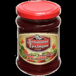 ДТ Варенье домашнее земляничное ГОСТ 350г (12) ст/б