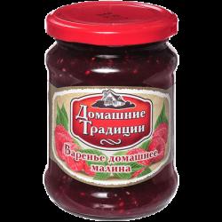 ДТ Варенье домашнее малиновое ГОСТ 320г (12) ст/б
