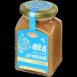 """Мёд Алтайский """"Горный"""" 330г (12) ст/б"""