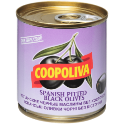 Coopoliva Маслины б/к 212мл /200г (12) ж/б