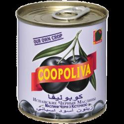 Coopoliva Маслины с кост 212мл /200г (12) ж/б
