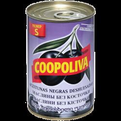 Coopoliva Маслины S б/к 280/320 300г (24) ж/б