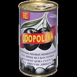 Coopoliva Маслины б/к 370мл /350г (24) ж/б