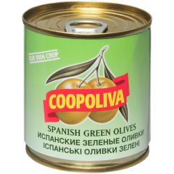 Coopoliva Оливки с кост 212мл /200г (12) ж/б