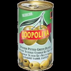 Coopoliva Оливки б/к 370мл /350г (24) ж/б