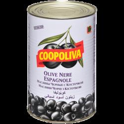Coopoliva Маслины с кост 190/210 4300г (1) ж/б