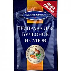 Santa Maria Приправа для бульонов и супов 10г (25)