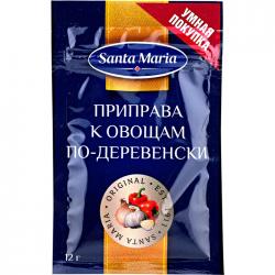 Santa Maria Приправа к овощам по-деревенски 12г (25)