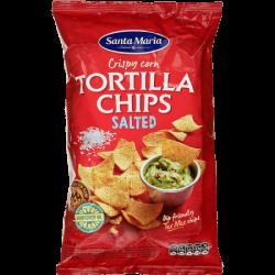 Santa Maria Кукурузные чипсы солёные 185г (15)