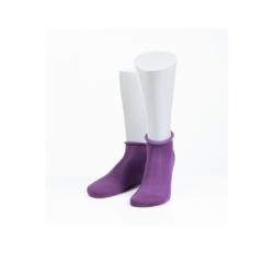 Носки женские 15D22 фиолет 23 размер