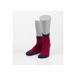 Носки женские 15D27 бордовый 23 размер