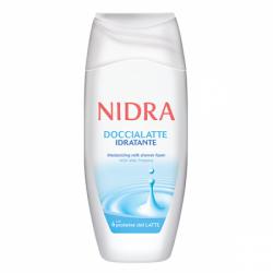 Пена-молочко д/душа с молоч протеинами увл 250мл Nidra (12)