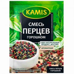 Kamis Приправа Смесь перцев горошком 15г (25)