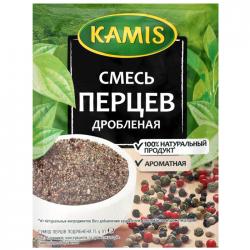 Kamis Приправа Смесь перцев дробленая 15г (25)