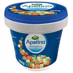 Арла Сыр Моцарелла Апетина мини 45% 160г (8) ведерко