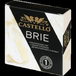 Арла Сыр с белой плесенью CASTELLO Бри 50% 125г (8)