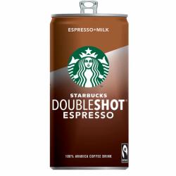 STARBUCKS молоч коф напит Doubleshot 2,6% 200мл (12) банка