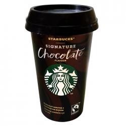 STARBUCKS молоч напиток Signature Chocolate 1,9% 220мл (10)