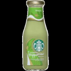 STARBUCKS молоч чайн напит Frappuccino Matcha 1,6% 250мл (8)
