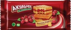 140 Венские вафли с земляникой Т22х100г