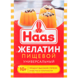ПецХ ХААС Желатин пищевой 10г (50)