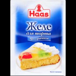 Пец ХААС Желе для торта бесцветное 11г (50)