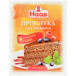 ПецХ ХААС Пропитка для бисквита со вкусом рома 80г (25)