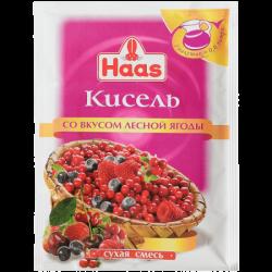 ПецХ ХААС Кисель Лесная ягода 75г (30)