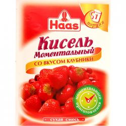 ПецХ ХААС Моментальный кисель Клубника 30г (45)