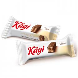 Kaegi Classic mini вафли в молочном шоколаде 2500г (1)