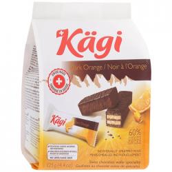 Kaegi Dark Orange mini вафли апельс крем/тёмн шок 125г (12)
