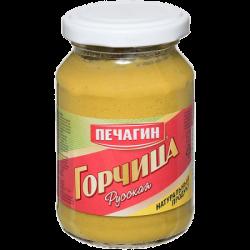 Печагин Горчица Русская 200г (12) ст/б
