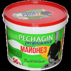 Печагин Майонез Профи 56% жирн. 5 л (2) ведро