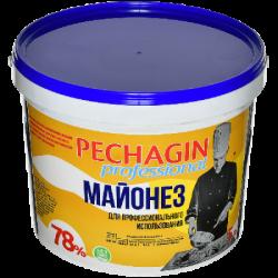 Печагин Майонез 78% жирн. 5 л (2) ведро
