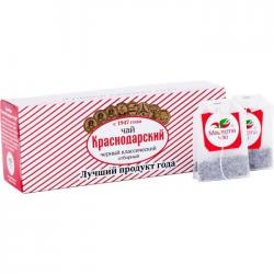 Чай Краснодарский черн классич Отборный 25*1,5г (24) конвер