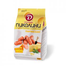 Колбаски Пиколини со вкусом Пармезана с/к Т15х50г.