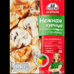 Трапеза НВ Нежн курица слив соус/грибы 28г (8бл*22шт)(176)