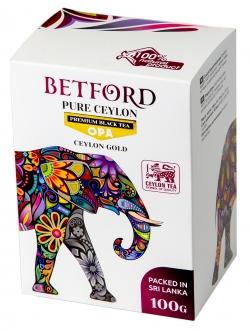 Betford (Бетфорд) чай цейлонский черный байховый крупнолистовой ОРА.100гр