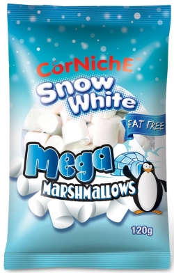 К Снежок Snow White Marshmallows (120 g) / № 8322 Т24х120г