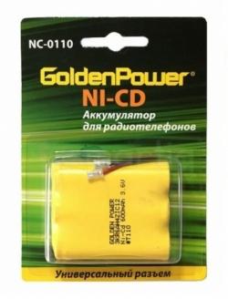Аккумулятор АКБ Golden Power NC-0110 NiCd (1бл.) (10)