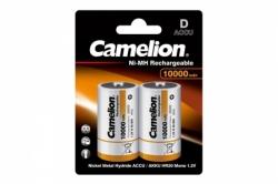 Аккумулятор Camelion D(R20) 10000mA Ni-Mh BL-2