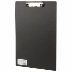 """Доска-планшет BRAUBERG """"Comfort"""" с прижимом А4 (230х350 мм), черная"""