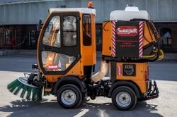 """""""SWEEPER"""" подметальная машина для содержания тротуаров, дворовых зон, набережных, парков"""