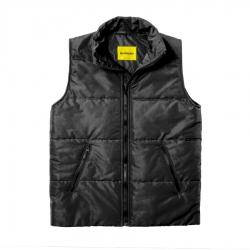 Мужской утепленный жилет Simple Vest Black
