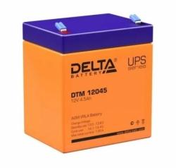 Аккумулятор АКБ 1245 DELTA (12V,4,5Ah) свинцово - кислотный