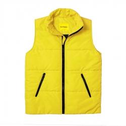 Мужской утепленный жилет Simple Vest Yellow