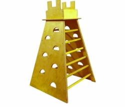 Башня для лазания с канатом 900х900х1500