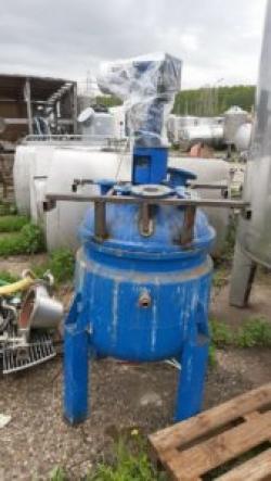 Реактор нержавеющий, объем — 0,3 куб.м.,рубашка, мешалка