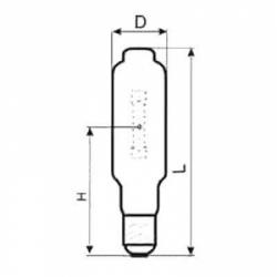 Лампа ДРИ 700-6 (Е40) Лисма