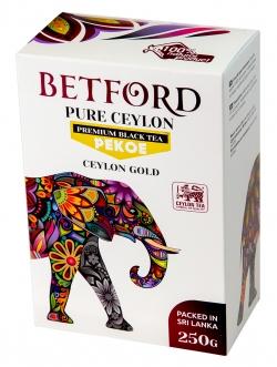 Betford (Бетфорд) чай цейлонский черный байховый стандарт PEKOE.250гр